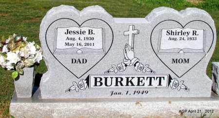 BURKETT, JESSIE B - Crawford County, Arkansas | JESSIE B BURKETT - Arkansas Gravestone Photos