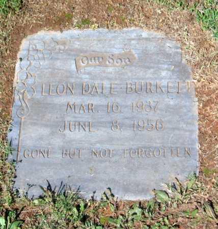 BURKETT, LEON DALE - Crawford County, Arkansas   LEON DALE BURKETT - Arkansas Gravestone Photos
