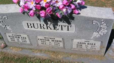 BURKETT, LEON DALE - Crawford County, Arkansas | LEON DALE BURKETT - Arkansas Gravestone Photos
