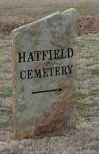 *HATFIELD  SIGN,  - Crawford County, Arkansas    *HATFIELD  SIGN - Arkansas Gravestone Photos