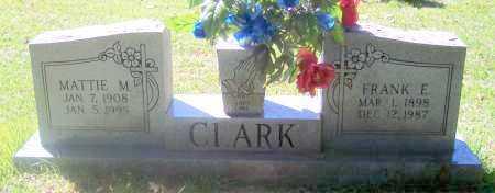 CLARK, FRANK E - Crawford County, Arkansas | FRANK E CLARK - Arkansas Gravestone Photos