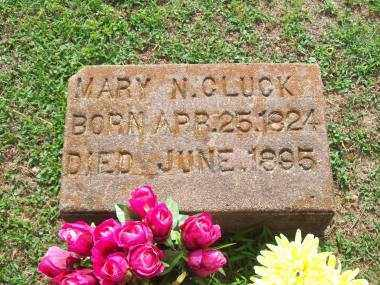 CLUCK, MARY N - Crawford County, Arkansas | MARY N CLUCK - Arkansas Gravestone Photos