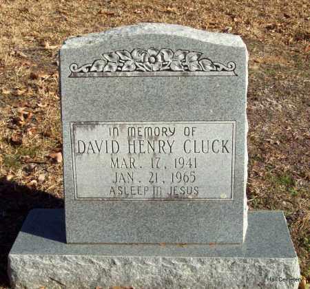 CLUCK, DAVID HENRY - Crawford County, Arkansas | DAVID HENRY CLUCK - Arkansas Gravestone Photos
