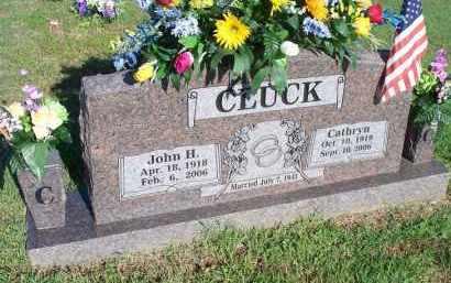 CLUCK, CATHRYN - Crawford County, Arkansas | CATHRYN CLUCK - Arkansas Gravestone Photos