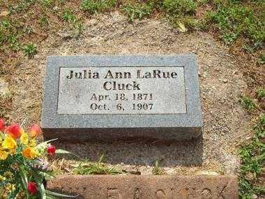 CLUCK, JULIA ANN - Crawford County, Arkansas | JULIA ANN CLUCK - Arkansas Gravestone Photos