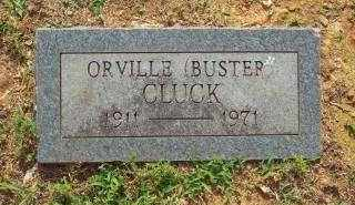 CLUCK, ORVILLE (BUSTER) - Crawford County, Arkansas | ORVILLE (BUSTER) CLUCK - Arkansas Gravestone Photos