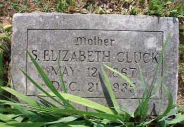 CLUCK, S ELIZABETH - Crawford County, Arkansas | S ELIZABETH CLUCK - Arkansas Gravestone Photos