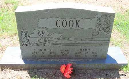COOK, MAMIE I - Crawford County, Arkansas | MAMIE I COOK - Arkansas Gravestone Photos
