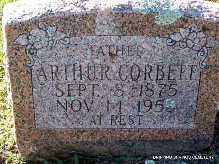 CORBETT, ARTHUR - Crawford County, Arkansas   ARTHUR CORBETT - Arkansas Gravestone Photos