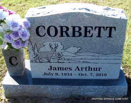 CORBETT, JAMES ARTHUR - Crawford County, Arkansas | JAMES ARTHUR CORBETT - Arkansas Gravestone Photos