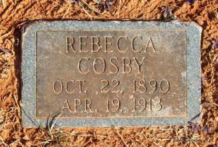 COSBY, REBECCA - Crawford County, Arkansas | REBECCA COSBY - Arkansas Gravestone Photos