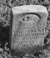 CROSSON, ROBERT LEE - Crawford County, Arkansas   ROBERT LEE CROSSON - Arkansas Gravestone Photos