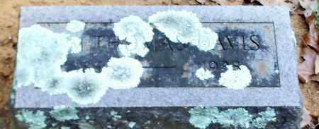 DAVIS, WILLIAM THOMAS - Crawford County, Arkansas | WILLIAM THOMAS DAVIS - Arkansas Gravestone Photos