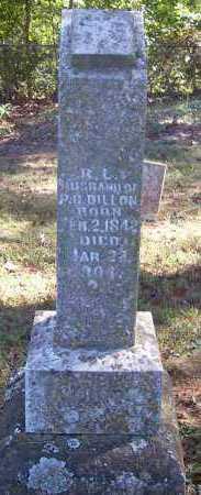 DILLON, R L - Crawford County, Arkansas   R L DILLON - Arkansas Gravestone Photos
