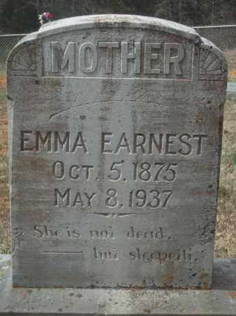 EARNEST, EMMA - Crawford County, Arkansas | EMMA EARNEST - Arkansas Gravestone Photos