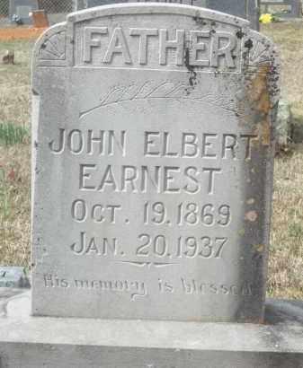 EARNEST, JOHN ELBERT - Crawford County, Arkansas | JOHN ELBERT EARNEST - Arkansas Gravestone Photos