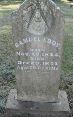 EDDY, SAMUEL - Crawford County, Arkansas | SAMUEL EDDY - Arkansas Gravestone Photos