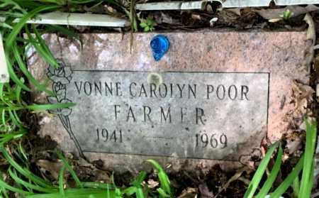 FARMER, VONNE CAROLYN - Crawford County, Arkansas   VONNE CAROLYN FARMER - Arkansas Gravestone Photos