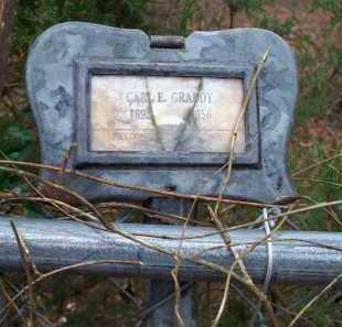 GRADDY, CARL E - Crawford County, Arkansas | CARL E GRADDY - Arkansas Gravestone Photos