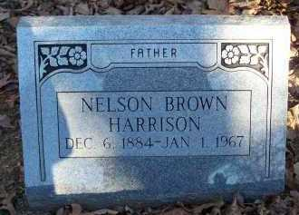 HARRISON, NELSON BROWN - Crawford County, Arkansas | NELSON BROWN HARRISON - Arkansas Gravestone Photos