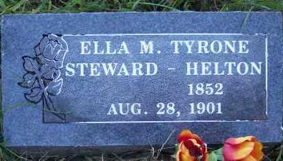 HELTON, ELLA M - Crawford County, Arkansas   ELLA M HELTON - Arkansas Gravestone Photos