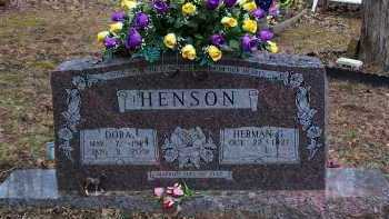 HENSON, DORA - Crawford County, Arkansas | DORA HENSON - Arkansas Gravestone Photos