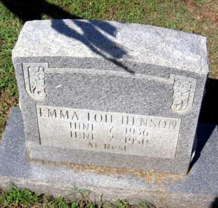 HENSON, EMMA LOU - Crawford County, Arkansas   EMMA LOU HENSON - Arkansas Gravestone Photos