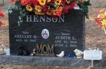HENSON, JUDITH LYNN - Crawford County, Arkansas | JUDITH LYNN HENSON - Arkansas Gravestone Photos