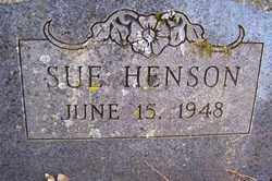 HENSON, SUE - Crawford County, Arkansas | SUE HENSON - Arkansas Gravestone Photos