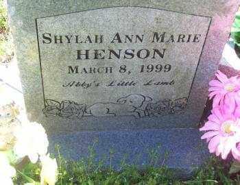 HENSON, SHYLAH ANN MARIE - Crawford County, Arkansas | SHYLAH ANN MARIE HENSON - Arkansas Gravestone Photos