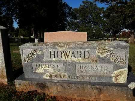 HOWARD, HANNAH D - Crawford County, Arkansas | HANNAH D HOWARD - Arkansas Gravestone Photos