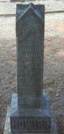 HOWARD, LEU O - Crawford County, Arkansas | LEU O HOWARD - Arkansas Gravestone Photos