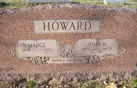 HOWARD, MADGE - Crawford County, Arkansas   MADGE HOWARD - Arkansas Gravestone Photos