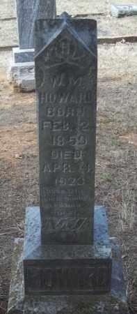 HOWARD, W M - Crawford County, Arkansas | W M HOWARD - Arkansas Gravestone Photos