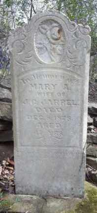 JARREL, MARY A - Crawford County, Arkansas   MARY A JARREL - Arkansas Gravestone Photos