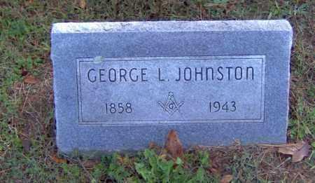 JOHNSTON, GEORGE L - Crawford County, Arkansas | GEORGE L JOHNSTON - Arkansas Gravestone Photos