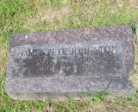 "JOHNSTON, JAMES PETER ""PETE"" - Crawford County, Arkansas 