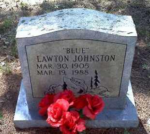 "JOHNSTON, LAWTON ""BLUE"" - Crawford County, Arkansas   LAWTON ""BLUE"" JOHNSTON - Arkansas Gravestone Photos"