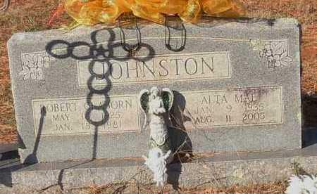JOHNSTON, ROBERT CLAYBORN - Crawford County, Arkansas | ROBERT CLAYBORN JOHNSTON - Arkansas Gravestone Photos