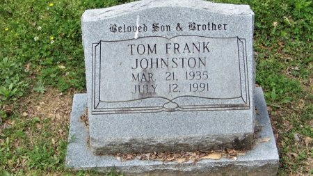 JOHNSTON, TOM FRANK - Crawford County, Arkansas | TOM FRANK JOHNSTON - Arkansas Gravestone Photos