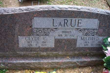 LARUE, MILDRED A - Crawford County, Arkansas   MILDRED A LARUE - Arkansas Gravestone Photos