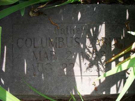 LARUE, COLUMBUS - Crawford County, Arkansas   COLUMBUS LARUE - Arkansas Gravestone Photos