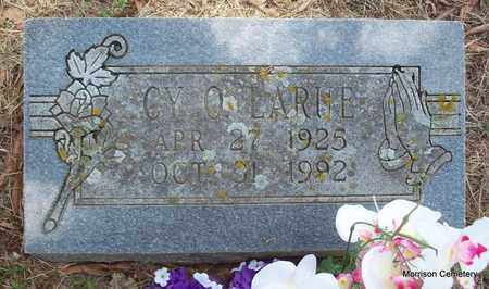 LARUE, CY O - Crawford County, Arkansas   CY O LARUE - Arkansas Gravestone Photos