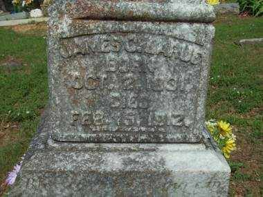 LARUE, JAMES C (CLOSE UP) - Crawford County, Arkansas   JAMES C (CLOSE UP) LARUE - Arkansas Gravestone Photos
