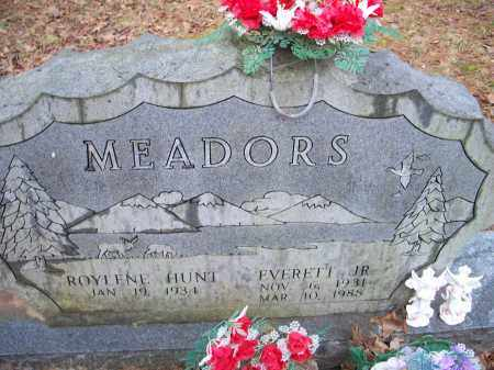 MEADORS, JR., EVERETT - Crawford County, Arkansas | EVERETT MEADORS, JR. - Arkansas Gravestone Photos