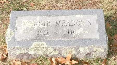 MEADOWS, MAGGIE - Crawford County, Arkansas | MAGGIE MEADOWS - Arkansas Gravestone Photos