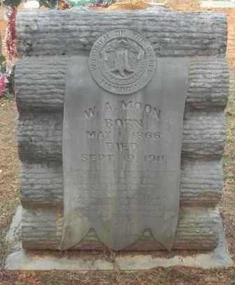 MOON, W A - Crawford County, Arkansas | W A MOON - Arkansas Gravestone Photos