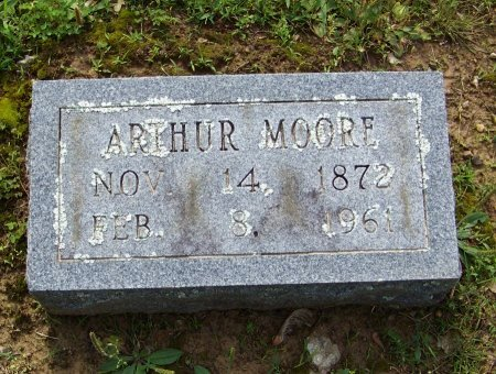 MOORE, ARTHUR - Crawford County, Arkansas | ARTHUR MOORE - Arkansas Gravestone Photos