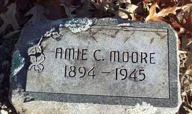 MOORE, AMIE C - Crawford County, Arkansas | AMIE C MOORE - Arkansas Gravestone Photos