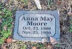 MOORE, ANNA MAY - Crawford County, Arkansas   ANNA MAY MOORE - Arkansas Gravestone Photos